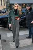 sorry to sound corny but gigi hadids denim jacket will make you mad for plaid 1