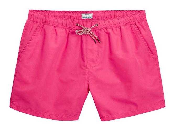 Next Pink Swim Shorts
