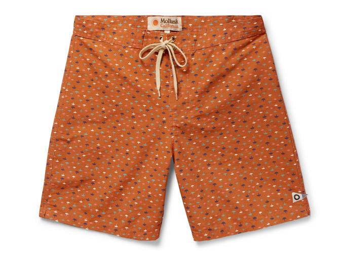 Mollusk Long Length Swim Shorts