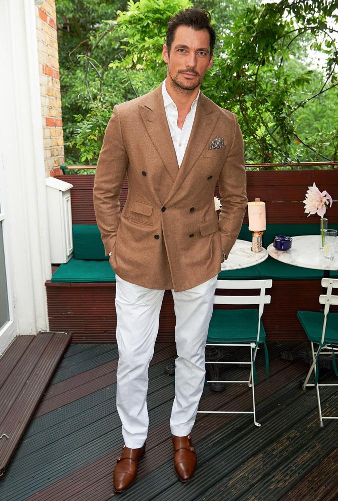 The Best-Dressed Men Of The Week - David Gandy at Cartier Dinner, London