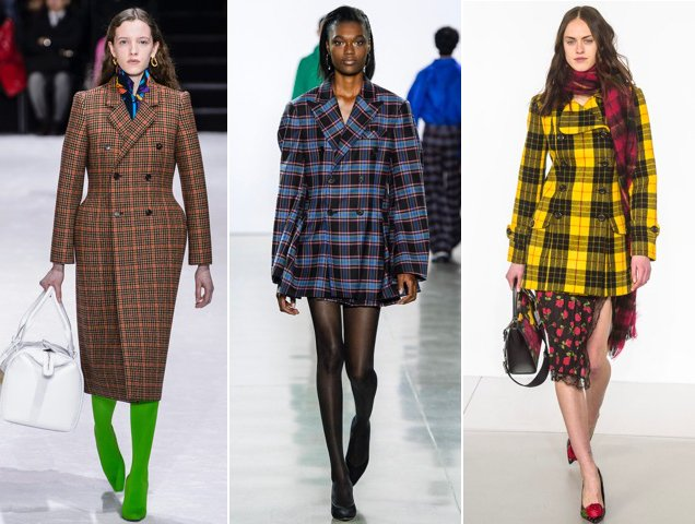 Even more plaid from the Fall 2018 shows.