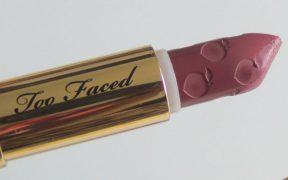 1542469322 Too Faced Peach Kiss Moisture Matte Long Wear Lipstick Flight Risk Review
