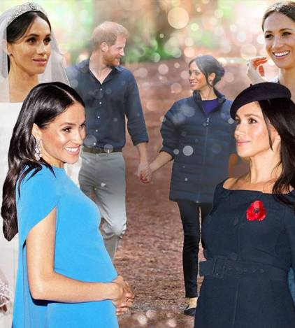 bbbc716b2a263 How Meghan Markle Overcame Haters, Household Feuds and Rivalry Rumors to  Emerge as One in