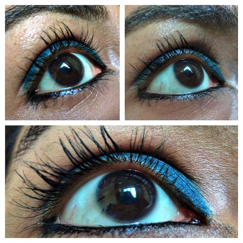 Essence The False Lashes Mascara Dramatic Volume Unlimited on eyes