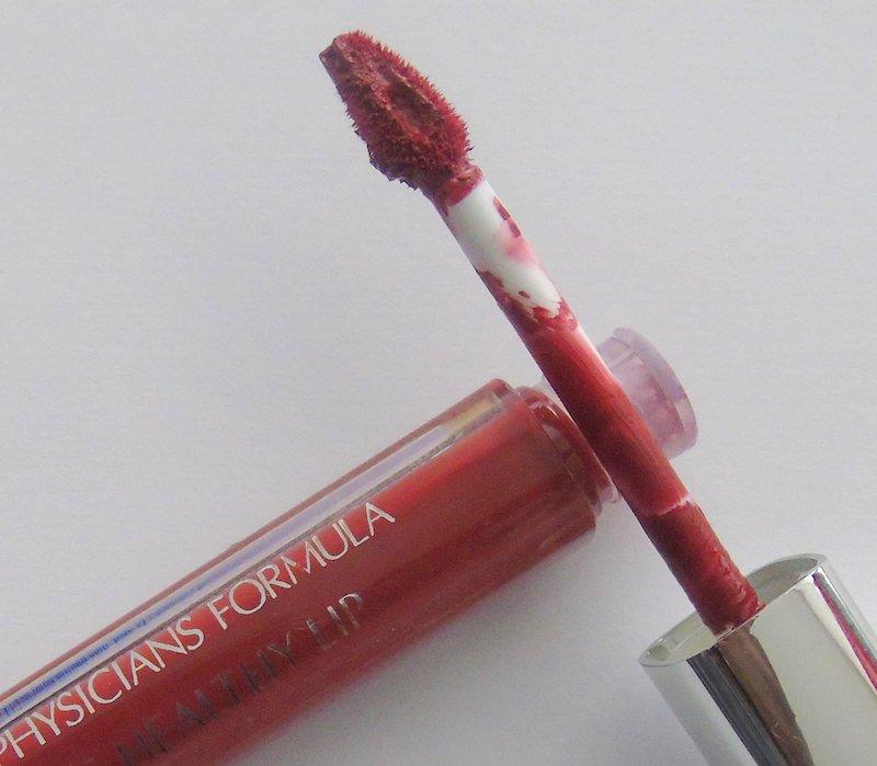 Physicians Formula The Healthy Lip Velvet Liquid Lipstick Redstorative Effects applicator