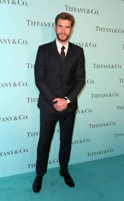 Liam Hemsworth, Tiffany And Co. Unveiling