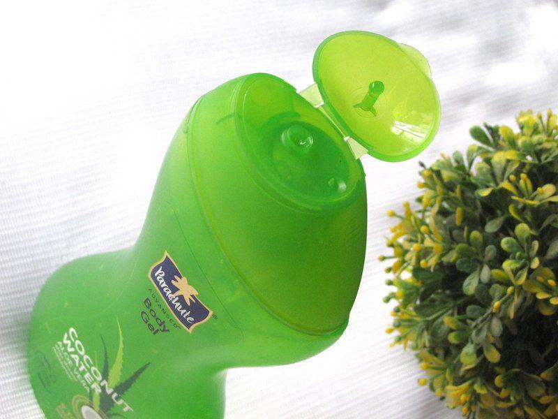 Parachute Coconut Water and Aloe Vera Body Gel packaging