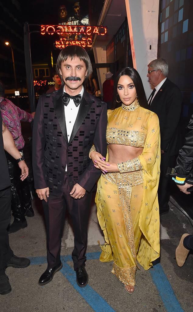 Kim Kardashian, Jonathan Cheban, Halloween 2017, Sonny, Cher