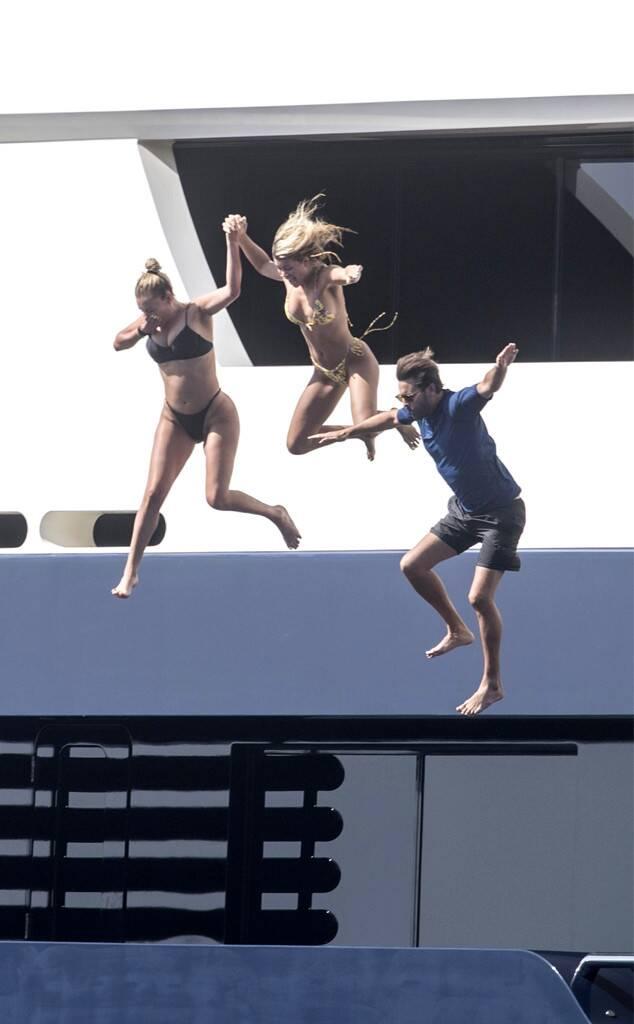 Scott Disick, Sofia Richie, yacht, Positano