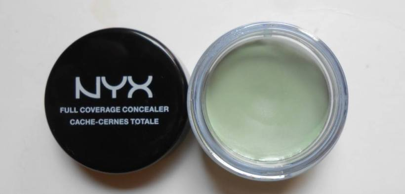 NYX Full Coverage Concealer Jar Green Review