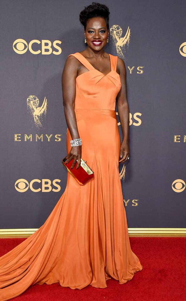 Viola Davis, 2017 Emmy Awards, Arrivals