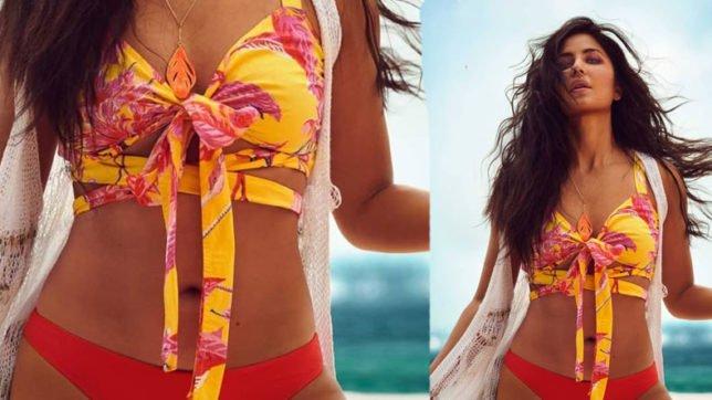 Katrina Kaif exudes summer vibes in a bikini top watch video x