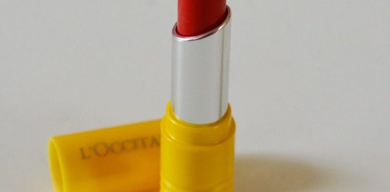 LOccitane Fruity Lipstick Redy To Play Review