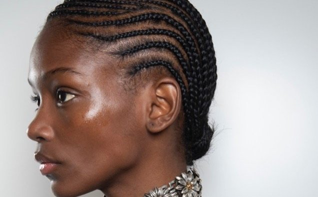 gucci spring beauty short braided natural hair landscape cropped