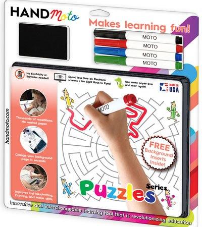 custom dry erase kids puzzles games
