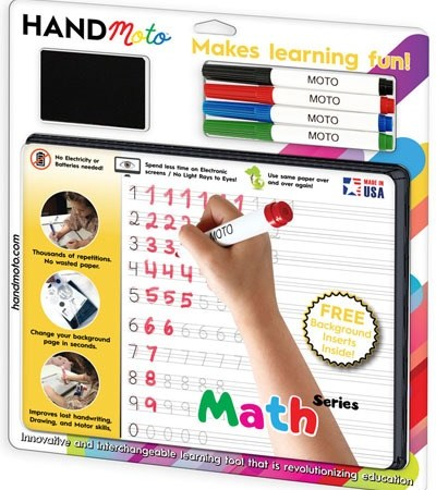 custom whiteboard learning math game