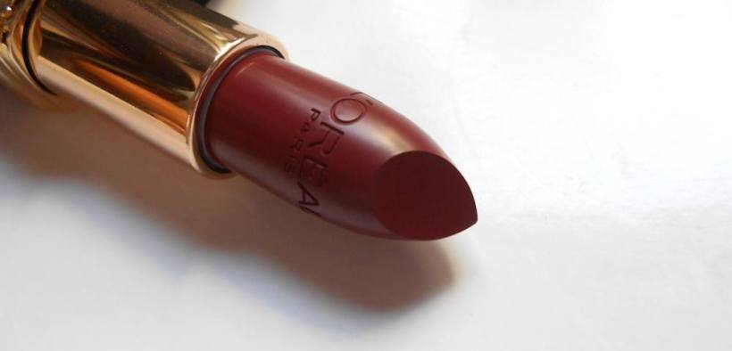 Loreal Color Riche Matte Lipstick Rosewood Forest Review