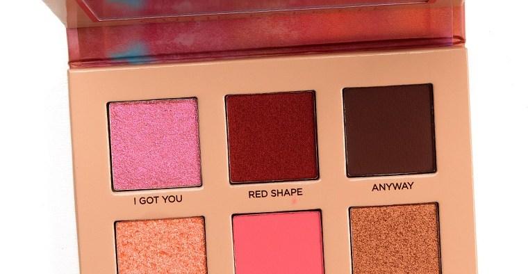 nabla cosmetics coral palette