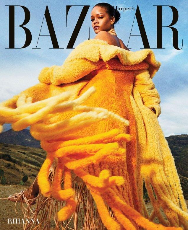 US Harper's Bazaar September 2020 : Rihanna by Gray Sorrenti