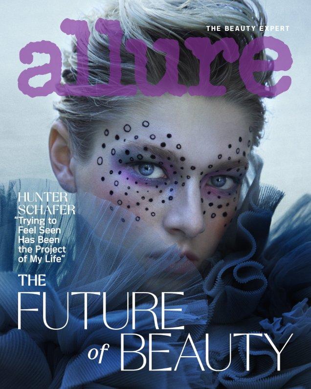 Allure September 2020 : Hunter Schafer by Daniella Midenge