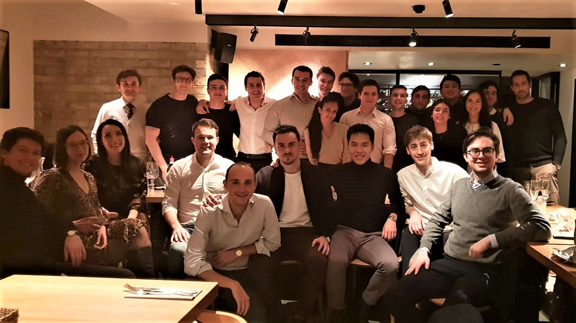 London Chapter Christmas Dinner