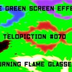 "【No.070】""Burning flame glasses"" 燃える炎の眼鏡/フリー素材/グリーンスクリーン/Free Green Screen Effects"