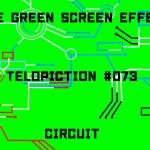 "【No.073】""Circuit"" 電気が走る回路/フリー素材/グリーンスクリーン/Free Green Screen Effects"
