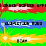 "【No.080】""Beam"" ビーム/フリー素材/グリーンスクリーン/Free Green Screen Effects"