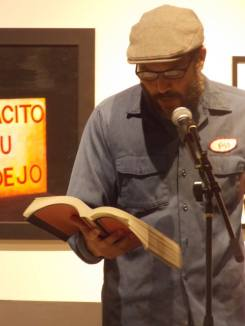 Jimmy Jazz reading from The Book of Books