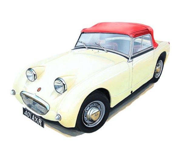 classic car Illustrator