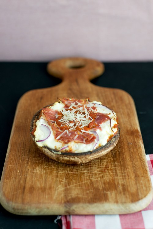 "Italian Portobello ""Pizza"" 