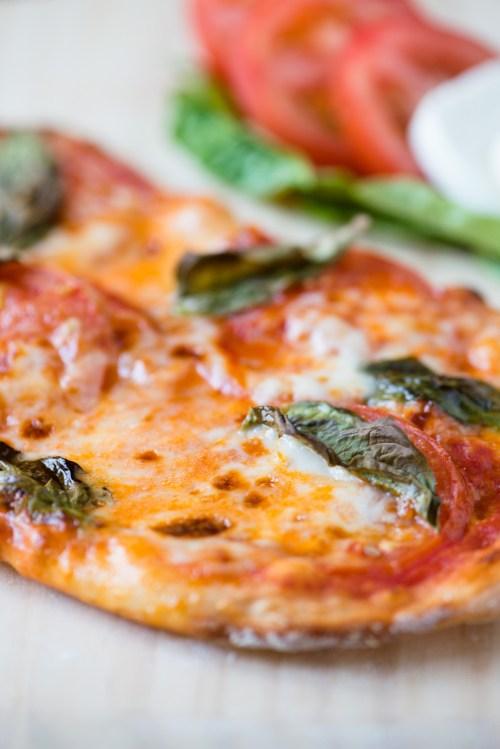 Margherita Pizza   bsinthekitchen.com #pizza #dinner #bsinthekitchen