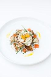 Fried Egg on Sourdough, Swiss Chard, Goat Cheese, & Herbs | bsinthekitchen.com #friedegg #sourdough #bsinthekitchen
