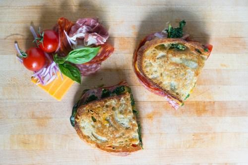 The Spanish Deli Sandwich | bsinthekitchen.com #sandwich #lunch #bsinthekitchen