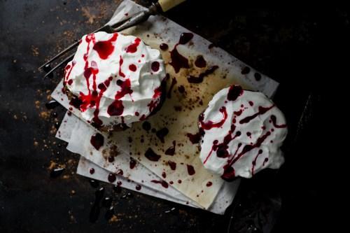 Mississippi Blood Pies | bsinthekitchen.com #halloween #dessert #bsinthekitchen