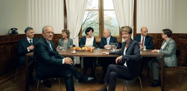 Die Bundesrats-WG: Auch eine Art Lebensform ...