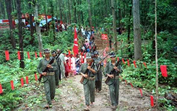 Image result for forest people in india + naxals