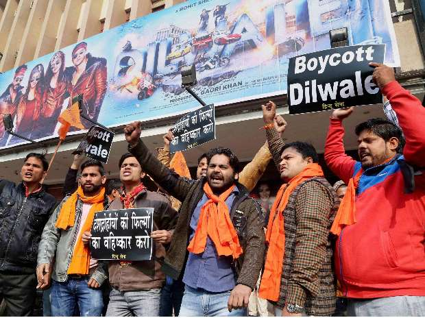 Image result for dilwale protests