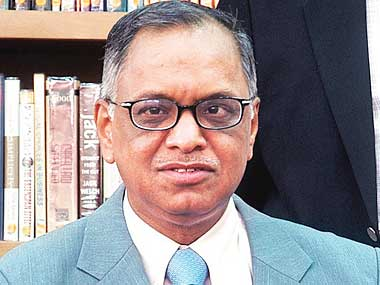 We must benchmark ourselves against the best in the world: N R Narayana Murthy