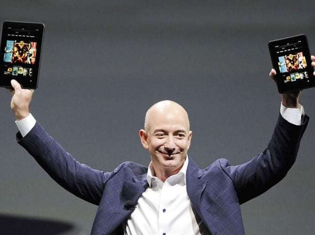 Amazon, Jeff Bezos, launch of amazon prime video, prime video, netflix