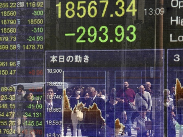 Equities weaken after Dow breaks 22,000; dollar soft