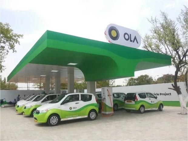 Ola, Ola charging station, Ola electric cabs, Ola electric mobility