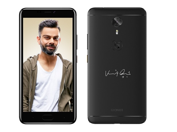 Gionee A1 with Virat Kohli signature