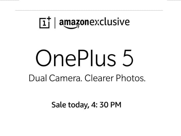 OnePlus 5 sale on Amazon