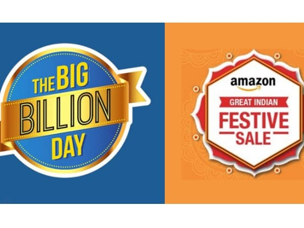 flipkart and amazon independence sale