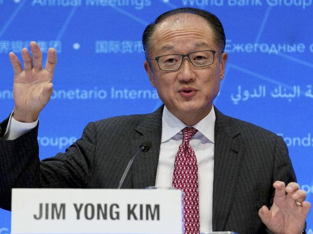 Jim Yong Kim, World Bank, World Bank president
