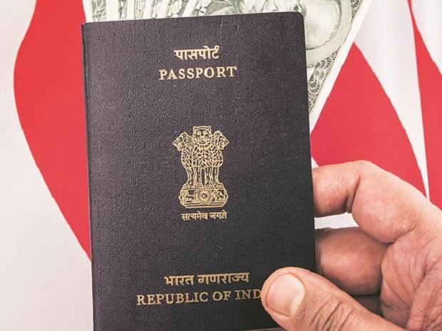 passport, H-1B visa