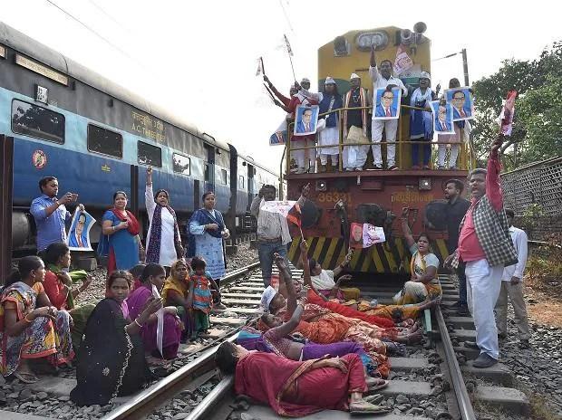 'Bharat bandh' protest