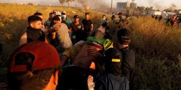 Sidelined by regional tensions, Iraq's anti-govt protesters vow to press on