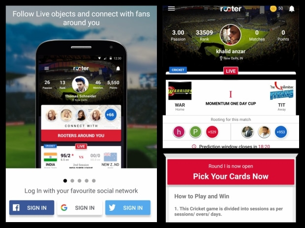 Rooter, a sport social network to connect with fans of your favourite team